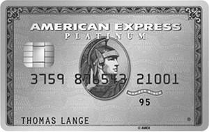 Amex Platinum Kreditkarte